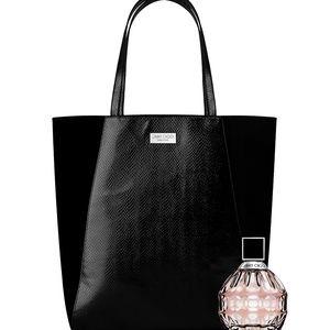 JIMMY CHOO PARFUMS Snakeskin Tote Bag